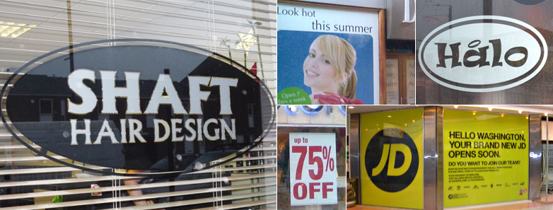 Window Signs from Jagger Signs